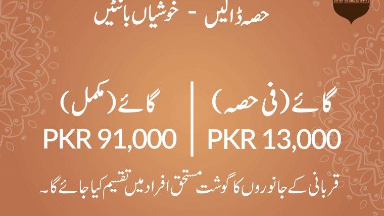 Waqf Qurbani 2020