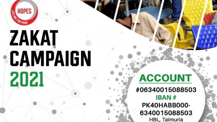 Zakat Campaign 2021